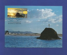 New Zealand 1998  Mi.Nr. 1702 , Maximum Card - Whakatane - Scenic Skies -  First Day 29 July 1998 - Used Stamps