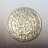 D Pedro II  6 Vintens  (Replica Com Banho De Níquel E Mate  REPRODUCTION  Fausse Monnaie) - 2 Scans - Counterfeits