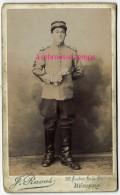 CDV-militaire 1er Régiment-étoile Insigne De Spécialité Sur Manche-photo Raous à Béziers - War, Military