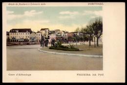 FIGUEIRA Da FOZ - Caes D'Alfandega (c/lojas: Cabeleireiro). 1905s Postal Edição Da Papelaria E Tabacaria Lobo.. PORTUGAL - Coimbra