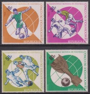 République Démocratique Du Congo - Football, Coupe Du Monde 1966 En Angleterre - 4 Val Neufs ** // Mnh - Mint/hinged