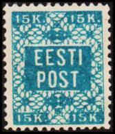 1918. Flowermotive. 15 K. Perf 11½ (Michel: 2A) - JF192242 - Estland