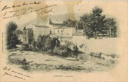 """LIMOUX Aude : """" Brasserie """" - Thème Bière - Circulée En 1903 - Limoux"""