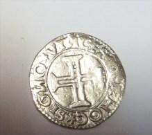 D Joao III Tostao De Prata  (Replica Com Banho De Niquel Mate REPRODUCTION  Fausse Monnaie) -2 Scans - Counterfeits