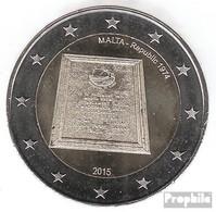 Malta 2015 Stgl./unzirkuliert Auflage: 435.000 Stgl./unzirkuliert 2015 2 Euro Ausrufung Der Republik - Malta