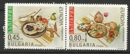 Europa CEPT 2005 Bulgarie - Bulgarien - Bulgaria Y&T N°4057a à 4058a - Michel N°4704C à 4705C *** - Se Tenant - 2005