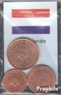Niederlande NL1 - 3 Stgl./unzirkuliert Gemischte Jahrgänge Stgl./unzirkuliert 1999-2004 Kursmünze 1, 2 Und 5 Cent - Netherlands