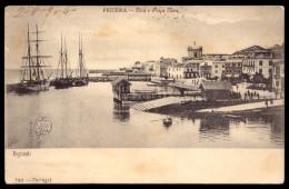"""FIGUEIRA Da FOZ - Doca E Praça Nova. CIRCULADO 1904 """"Devolvido Ao Remetente"""". 1900s (Coimbra) PORTUGAL - Coimbra"""