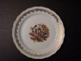Assiette Plate Select Porcelaine Motif Gibier - Plates