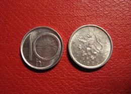 Czech Republic Tschechische Republik TSCHECHIEN 1995 10 H Umlaufmünze  Circulating Coin. - Tchéquie