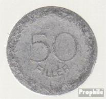 Ungarn KM-Nr. : 536 1948 Schön Aluminium Schön 1948 50 Filler Schmied - Ungarn