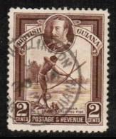 BRITISH GUIANA  Scott # 211 VF USED - British Guiana (...-1966)