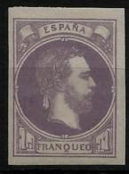 02170 España EDIFIL 158 * Catalogo 415,- LUJO - Carlistes