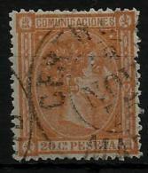 02172 España EDIFIL 165 O Catalogo 198,- - Usati