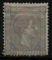 02175 España EDIFIL 168 * Catalogo 265,- - 1875-1882 Regno: Alfonso XII