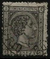 02176 España EDIFIL 169 O Catalogo 315,- - 1875-1882 Kingdom: Alphonse XII