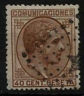 02182 España EDIFIL 195 O Catalogo 230,- - 1875-1882 Royaume: Alphonse XII
