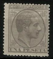 02186 España EDIFIL 197 * Catalogo 112,- - 1875-1882 Reino: Alfonso XII