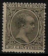 02197 España EDIFIL 225 * Catalogo 84,- - 1889-1931 Reino: Alfonso XIII