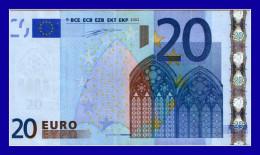 "20 EURO ""V"" SPAIN Firma DUISENBERG M011 E5  CIRCULATED  SEE SCAN!!!!!! - EURO"
