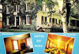 12 - CRANSAC : L'Hotel Du PARC - CPSM CPM Grand Format - Aveyron - France