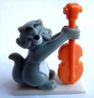 FIGURINE ARISTOCHATS Walt Disney NESTLE 1999 - ARISTOCHAT SCAT CAT - Disney