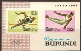 Burundi 1964 OCBn° Bloc 5A*** MNH Cote 4,50 Euro Sport - Burundi