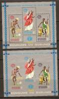 Burundi 1965 OCBn° Bloc 8 Et 8A*** MNH Cote 6,50 Euro - Burundi
