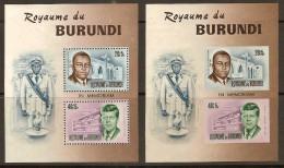 Burundi 1966 OCBn° Bloc 10 Et 10A*** MNH Cote 6,50 Euro - Burundi