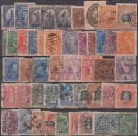 Amérique Latine, Petit Lot De Timbres Anciens. Chili Uruguay Argentine Equateur El Salvador Mexique Guatemala Costa Rica - Central America