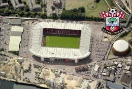 Stadium St Mary´s (Southampton,England) Postcard - Size: 15x10 Cm. Aprox - Fútbol