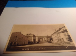 Fraize Place La Grande Rue Commerce Café - Fraize