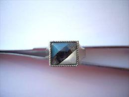 Der Ring Mit Estnischer Nationalfarben Estonia National Colors Blue Black & White - Ringe