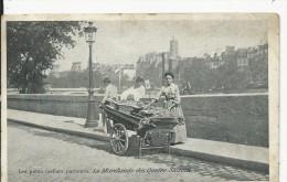 Paris  Les Petits Metiers  Parisiens     La Marchande De Poisson - Francia