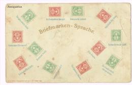 Briefmarken - Sprache , Langage De Timbres, Lingua Di Francobolli, Schweizer Briefmarken - Timbres (représentations)