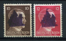32762) LOKALAUSGABEN Schwarzenberg # 24+25 I Gefalzt Aus 1945, 600.- € - Zona Sovietica