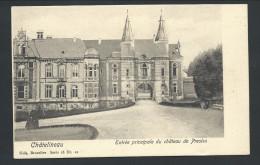 CPA - Châtelineau - Entrée Principale Du Château De PRESLES - Nels  Série 18  N° 12   // - Aiseau-Presles