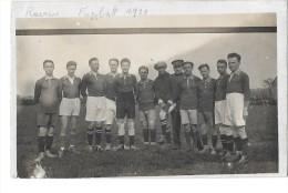 LG60 - 1  -  RAEREN  équipe De Football 1929   *carte Photo*