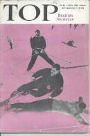 TOP Réalités Jeunesse  N° 56 - GERARD PHILIPPE - DALIDA  - SKI -  DECEMBRE 1959 - Unclassified