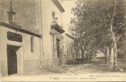 Carte Postale:AGDE (34) Notre Dame Du Grau-Entrée Et Avenue - Agde