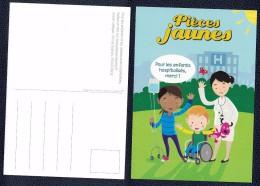 Carte Postale Postcard Opération Pièces Jaunes 2016 - Comicfiguren