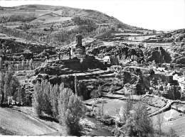 12 - PLAISANCE : Eglise Et Le Gouffre St Martin - CPSM Dentelée Noir Blanc Grand Format - Aveyron - France