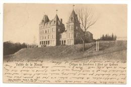 Château De RONCHINNE à Mont Sur Godinne-Vallée De La Meuse.Près Crupet.Cachet La Plante1907 - Belgique