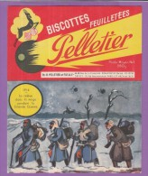 Buvard Biscottes Pelletier Histoire 1914-1918 Grande Guerre - Zwieback