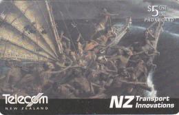 NEW ZEALAND(chip) - Great Ocean-going Waka, 03/02, Used - Neuseeland