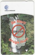 DOMINICAGPT) - Drugs Hurt, CN : 272CDMA, Tirage %35000, Used - Dominica