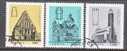 LITHUANIA  437-9    (o)    CHURCHES - Lithuania