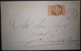 ANNULLI NUMERALI VENETO : NUMERALE PIAZZOLA Padova - 1878-00 Umberto I
