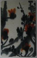 Taiwan Telephone IC Card IC00C010 Painting Culture Ceiba Flower Flora - Taiwan (Formosa)