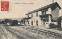 01 - RUFFIEU - Ain - La Gare Du Tramway - Other Municipalities
